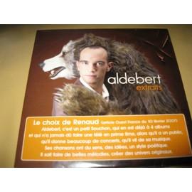 Aldebert cd extraits le choix de Renaud