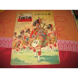 Tintin N� 30 : 13 Ieme Annee 1958 Le Duc De Fer