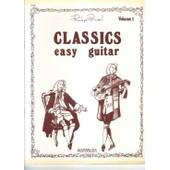 Classics Easy Guitar Vol 1 �ditions Coppelia
