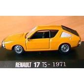 Renault 17 Ts Sport Race Jaune 1971 Norev 1/43 Yellow