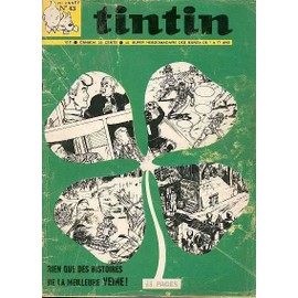 Tintin Hebdo N� 43 : Couverture : Tr�fle � 4 Feuilles