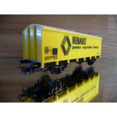 Jouef 6271 Wagon Couvert Uic Renault Sncf Ho 1/87