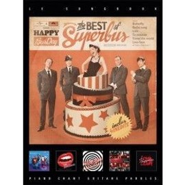 Superbus : the best of - chant + piano + accords