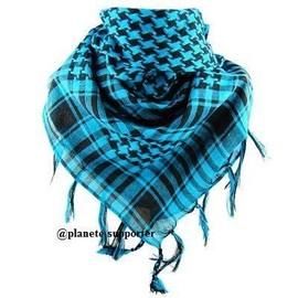 Keffieh �charpe Foulard Palestinien Cheche - 12 Coloris Diff�rents - Multicolore Blanc Noir Bleu Vert Rouge Orange Jaune Rose Marron Violet Beige Gris Vert ...