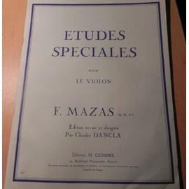 Etudes Speciales - Op.36 N°1 Violon