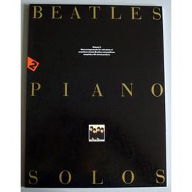 The Beatles Piano Solos Piano Solo et Guitare (Symboles d'Accords) Volume 2