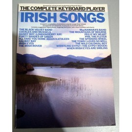 THE COMPLETE KEYBOARD PLAYER IRISH SONGS