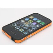 Coque Bumper Cristal Pour Iphone 4 + Film De Protection Recto Verso