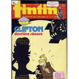 Tintin N� 636 : Clifton, Derni�re S�ance