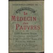 Le M�decin Des Pauvres & Les 2000 Recettes Utiles de Docteur Beauvillard