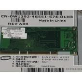 Intel Network PCI-X-133 Card 10/100/1000Mbps W1392 (DELL 0W1392) - P/N : C48544-001, C47159-003