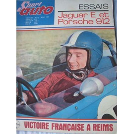 Sport Auto N� 43 : Essais Jaguar E Et Porsche 912 (Jean-Pierre Beltoise En Couverture)