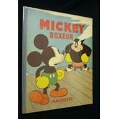Mickey Boxeur de walt disney