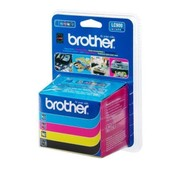 Brother Pack Cartouches Encre Lc900 - Cyan, Magenta, Jaune, Noir Pour Brother Fax 1835c, 1840c, 1940c, 2440c, 240c, 440cn, 5840