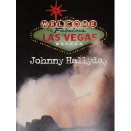 Johnny Hallyday Programme du concert de Las Vegas N° 1 : Welcome to fabulous Las Vegas Nevada