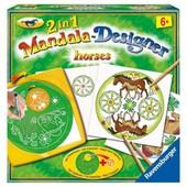 Midi Mandala-Designer 2 En 1 - Horses