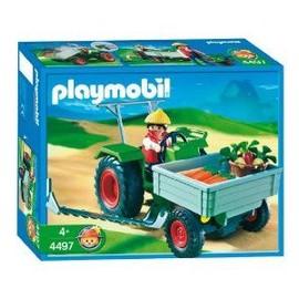 Playmobil - 4497 - Fermier/Tracteur/Faucheuse d'occasion  Livré partout en France