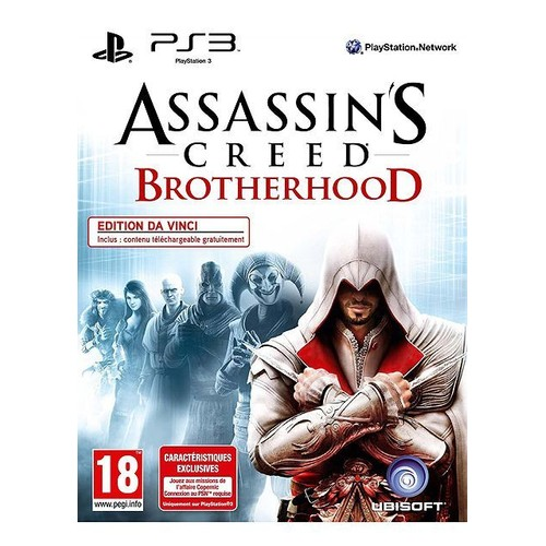 Assassin's Creed Brotherhood - Da Vinci Edition - PlayStation 3