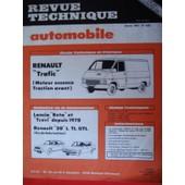 Revue Technique Automobile N� 429 : Renault Trafic (T800-T1000) Moteur Essence Traction Avant Type Du Moteur: C I J - D 700 (847 D 7.00)