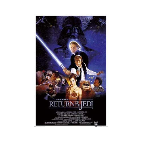 Poster Roulé Star Wars Motif Star Wars Return Poster Star Wars Return