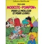 Modeste Et Pompon 4 Pour Le Meilleur Et Pour Le Rire de WALLI, BOM