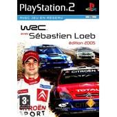 Wrc Avec Sebastien Loeb - Playstation 2 Avec Jeu En Reseau. Edition 2005