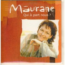 maurane chante francis cabrel : qui a part nous ? (version edit) (cd collector)
