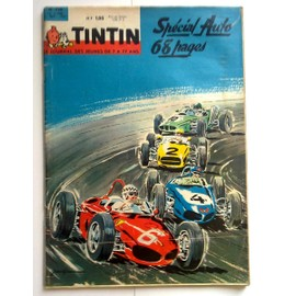 Tintin Journal Special Auto 1962 N� 728 : Special Auto 68 Pages