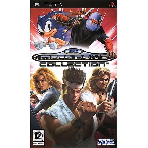 Sega Megadrive Collection Collection Budget PSP
