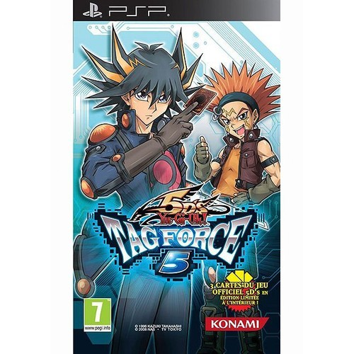 Konami Yu Gi Oh ! 5D s Tag Force 5 PSP