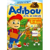 Adibou - Je Lis, Je Calcule (5-6 Ans)
