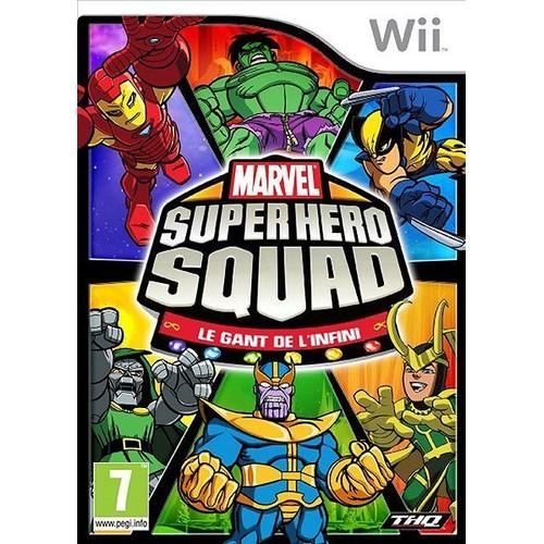 Marvel Super hero squad - Le gant de l'infini - Nintendo Wii