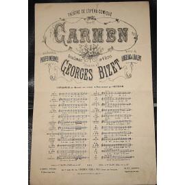 """Carmen - Bizet - """" Chanson des dragons d'Alcala """""""
