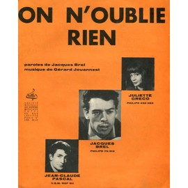 On n'oublie rien