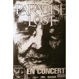 AFFICHE PARADISE LOST - ONE SECOND TOUR - 80X120 CM