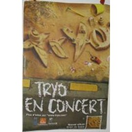 AFFICHE TRYO GRAINS DE SABLE - 80X120 CM