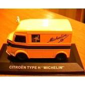 Citroen Type H Jaune Michelin Publicitaire 1/43 Ixo Altaya