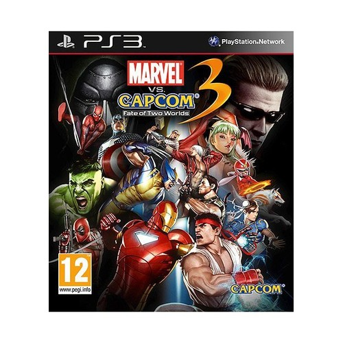 Marvel vs Capcom 3 Fate of Two Worlds - PlayStation 3