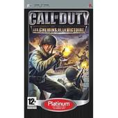 Call Of Duty - Les Chemins De La Victoire - Platinum