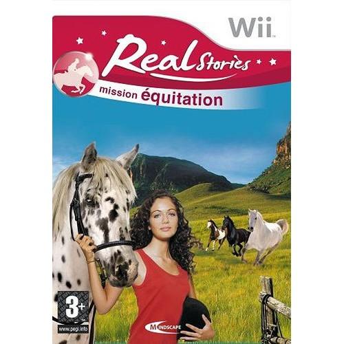 REAL STORIES, Mission Equitation Vous aimez les chevaux ?