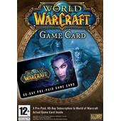 Carte Pr�-Pay�e De 2 Mois D'abonnement � Word Of Warcraft