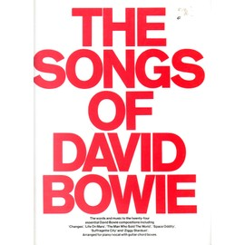 The Songs Of David Bowie Piano,  Vocal & Guitar (with Chord Boxes)