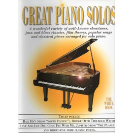 Great Pianos Solos The White Book