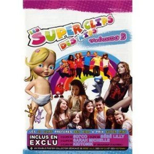 Les Supers Clips Des Kids /VOL.2 Dvd Edition simple