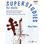 Superstudies For Violin Book1