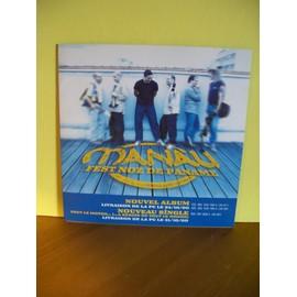 "MANAU:tracklisting de l'album ""Fest noz de Paname"""