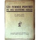 Les Femmes Peintres Du Dix-Huiti�me Si�cle de Oulmont Charles