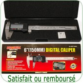 Pied � Coulisse Digital �cran Lcd - Tr�s Pr�cis 0,01mm
