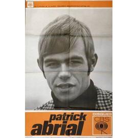 affiche format 80X120 cm années 60 ou 70 Patrick Abrial