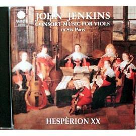Consort musique pour cordes en 6 Parties Ens. Hespérion xx